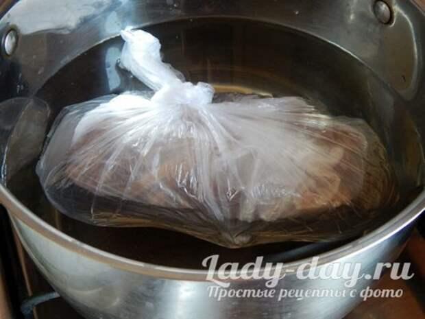Как вкусно сварить сало в пакете, в домашних условиях