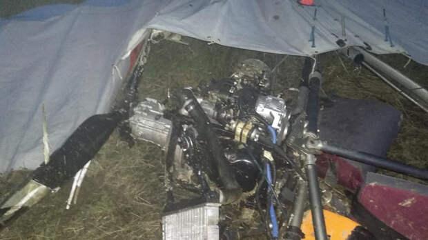 Мужчина погиб при падении дельтаплана под Костромой