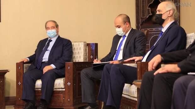 В Дамаске прошла встреча глав МИД Ирана и Сирии