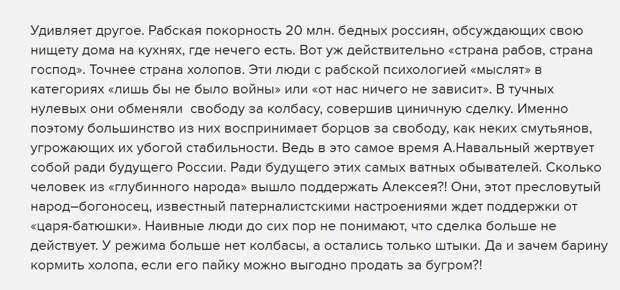 Юрий Селиванов: Ежовые рукавицы демократии