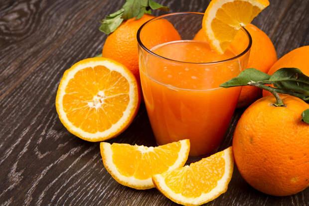 Апельсиновый сок: польза, о которой не догадываются
