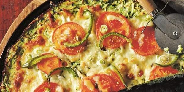 Пицца из кабачков. \ Фото: google.ru.