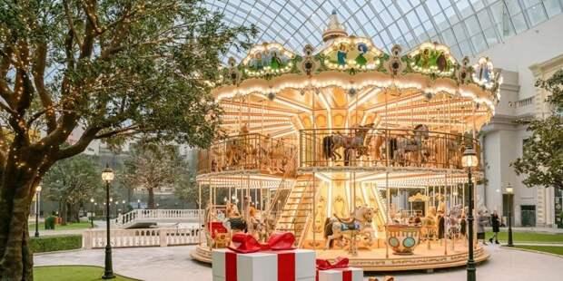 Путин и Собянин открыли тематический парк развлечений «Остров Мечты»