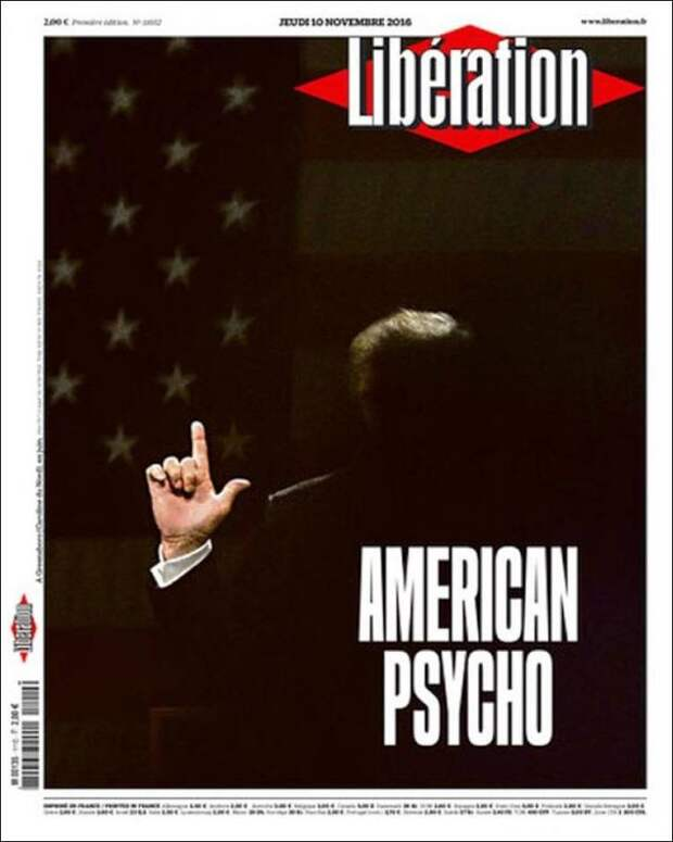 Дональд Трамп на обложке