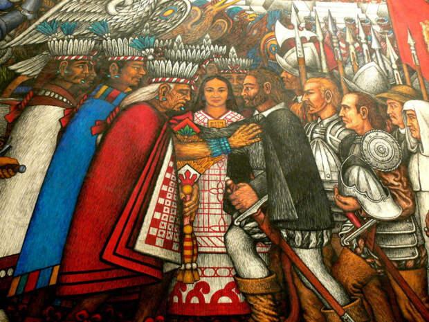 Любовь, предательство, война: Три индейские принцессы и их отношения с белыми завоевателями