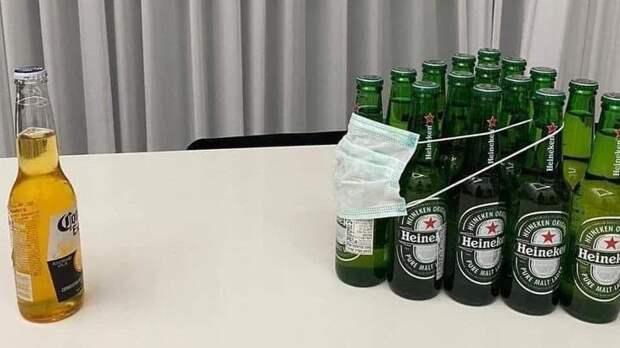 В США из-за коронавируса страдают производители пива «Корона»