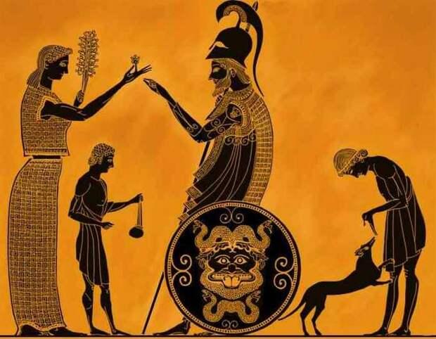 Древние мифы Греции и Рима.