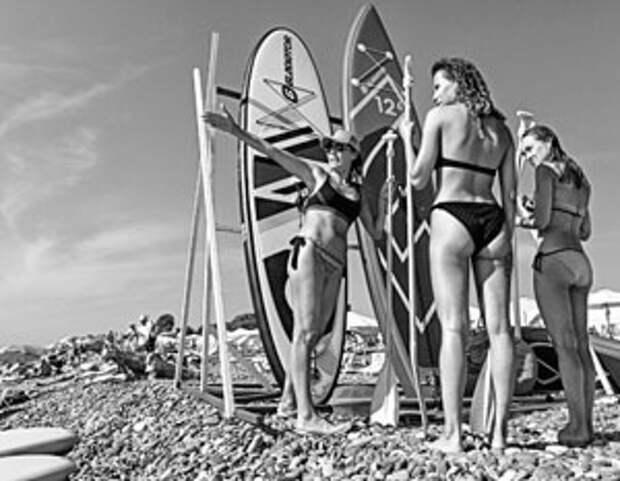 Российские пляжи этим летом оказались переполнены