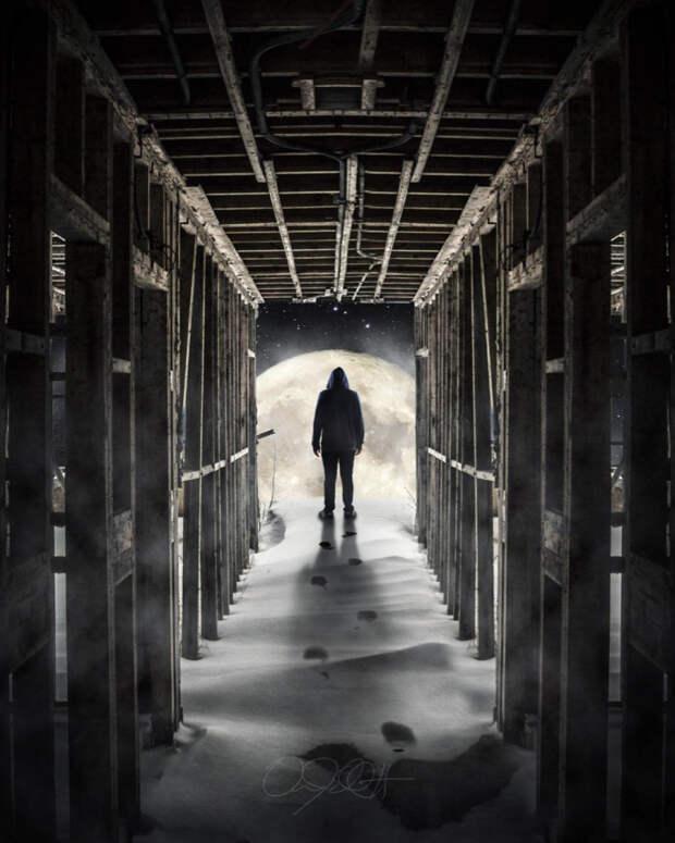 Творческие фотоманипуляции Аарона Эллиота