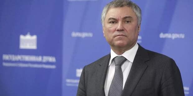 Володин рассказал про ген демократии у России