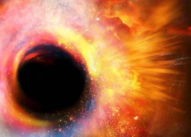 Черная дыра в представлении художника ©VICTOR HABBICK VISIONS/SPL/Getty