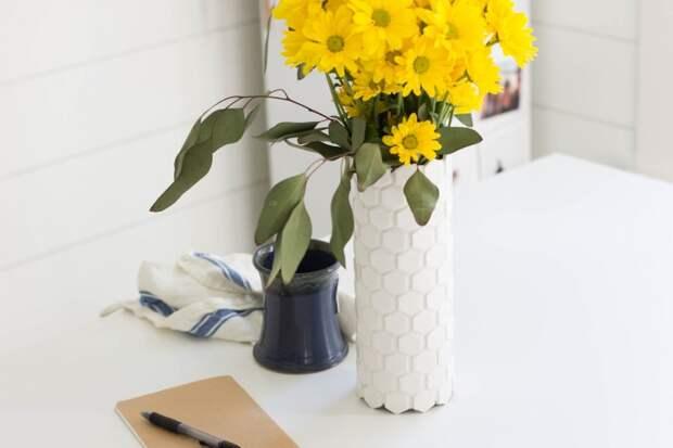 как сделать необычную вазу своими руками