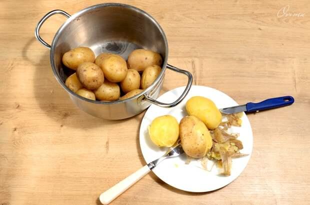 Картофельные улитки