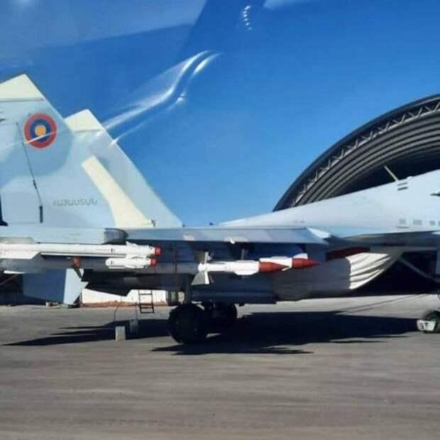 Опубликованные фото доказывают, что Пашинян врал о безоружных Су-30СМ