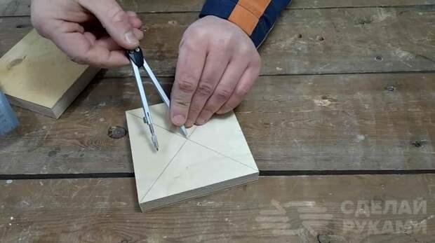 Как сделать удобные гайки-барашки из фанеры
