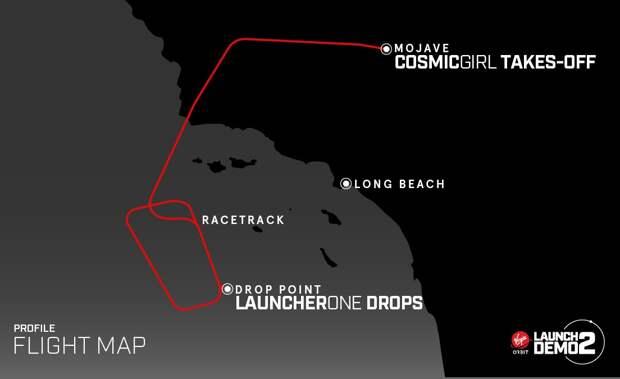 Virgin Orbit впервые успешно запустила ракету-носитель из-под крыла самолета