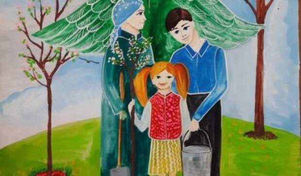 Рисунок белгородской второклассницы стал лучшим навсероссийском конкурсе