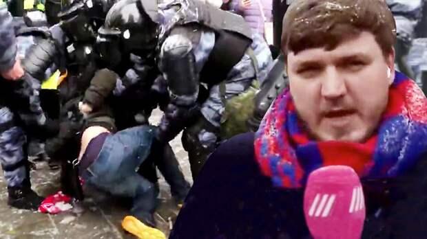 Фаната «Спартака» задержали, болельщик ЦСКА вел эфир. Как прошли протесты 31 января