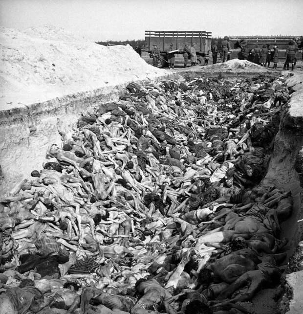 Врата ада: Освобождение лагеря Берген-Бельзен, апрель 1945 год