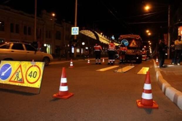 Разметку на калужских дорогах будут восстанавливать термопластиком