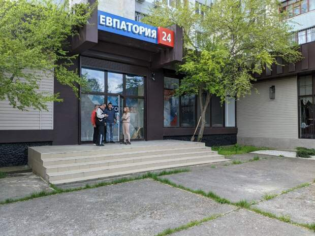 Работники телерадиокомпании «Крым» принимают участие во Всероссийском субботнике