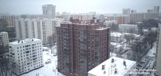 Фото дня: новостройку на Дежнева сняли с квадрокоптера