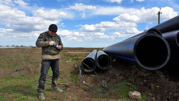 Глава Крыма сообщил о завершении острой фазы дефицита воды