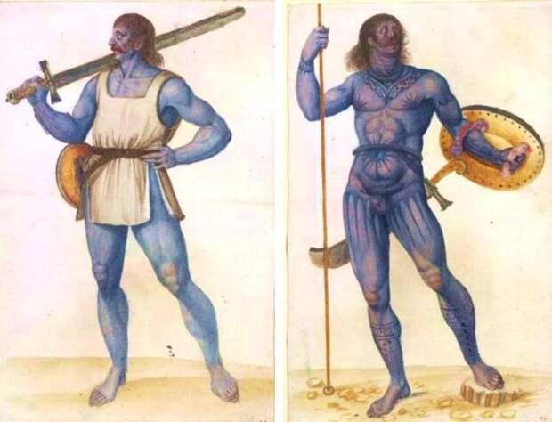 Пикты - разрисованные воины с края земли.