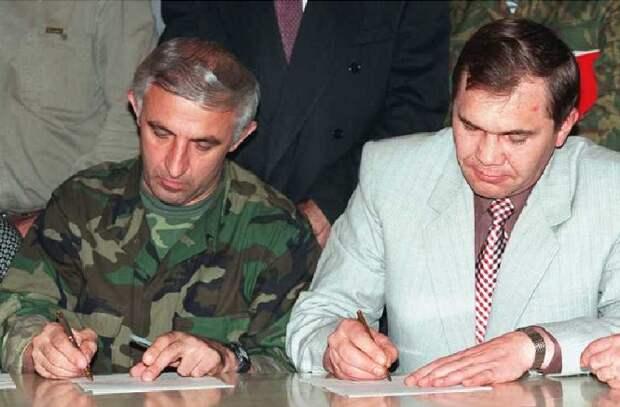 Хасавюртовские соглашения: как Россия закончила Первую чеченскую