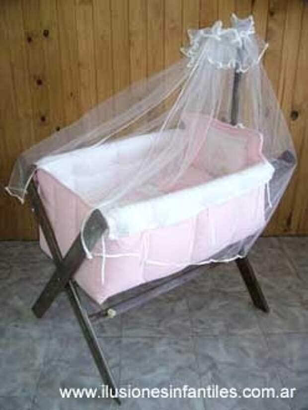 Идеальная кроватка для малыша своими руками