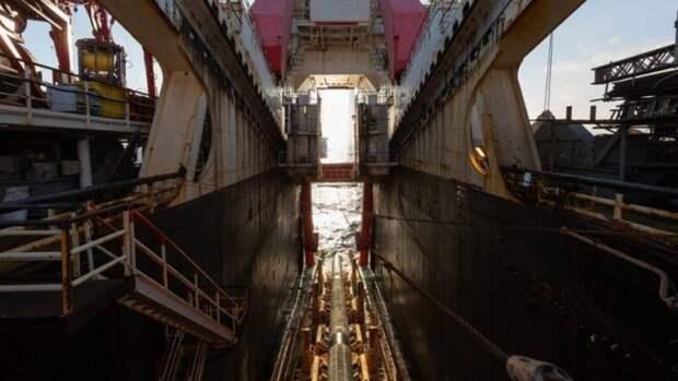 «Академик Черский» достроит «Северный поток— 2» затри-четыре месяца