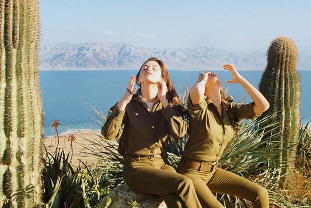 Что делают девушки израильской армии, когда ненадо никого защищать
