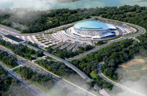 ФСИН: к строительству ледовой арены в Новосибирске привлекут осужденных