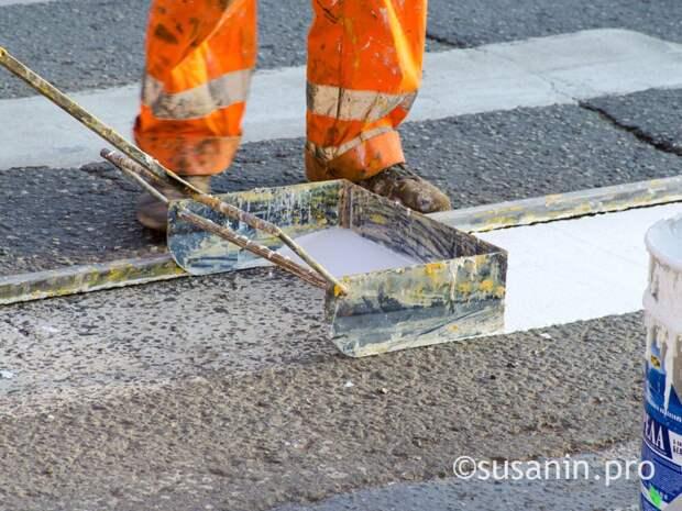 Обслуживающие улицы Ижевска организации могут обязать следить за разметкой и дорожными знаками