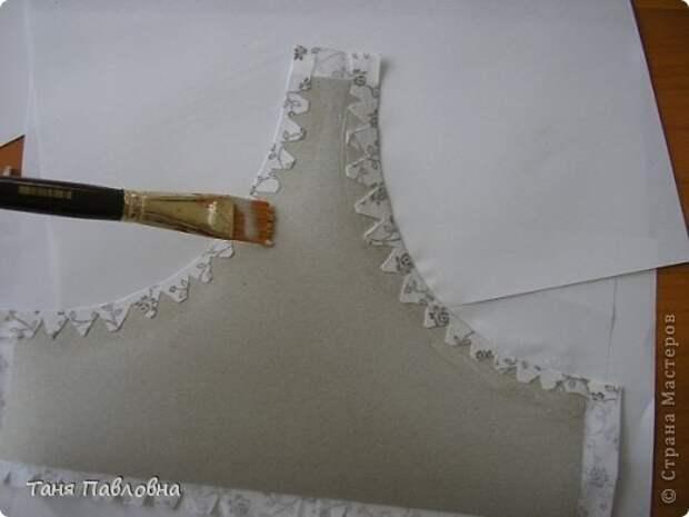 Мастер-класс Поделка изделие Картонаж Шкатулка-корзинка № 39 МК Картон Ткань фото 32