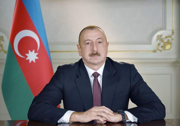 Алиев заявил, что карабахский город Шуши перешёл под контроль Баку