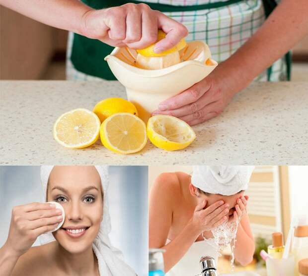 Лимонный сок сушит кожу. / Фото: agronom.guru
