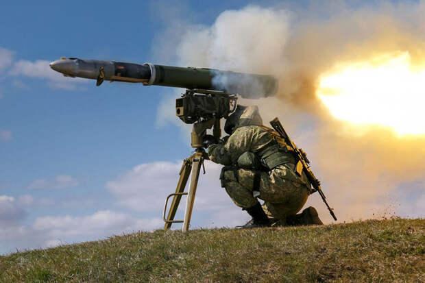 Десантники получили новейшие ПТРК «Корнет», оснащенные тепловизорами и лазерной наводкой