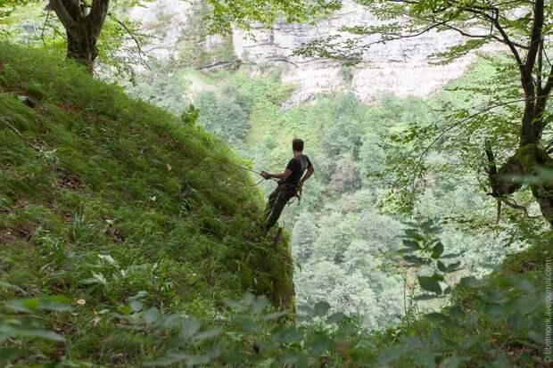ropejumping13 Прыжок в Сухое озеро