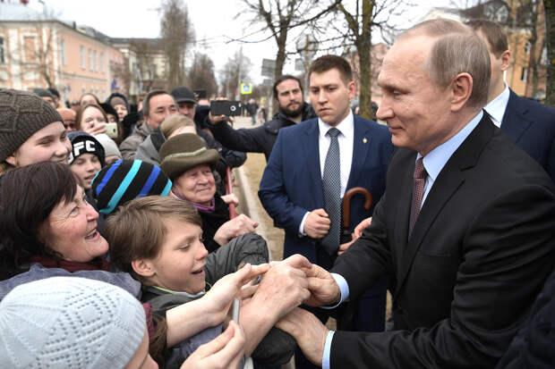 Россияне высказали своё отношение к Путину