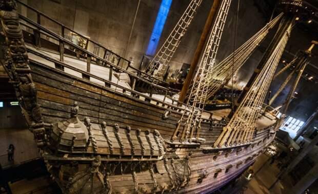 Археологи из Швеции идентифицировали два затопленных военных корабля времен Карла X