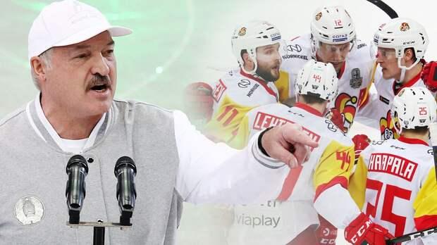 «Приезжая на игру, вы поддерживаете диктатора с кровью на руках». «Йокерит» не полетел в Минск из-за политики