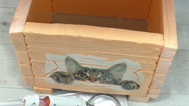 Никто не догадается, из чего вы сделали стильный ящик для мелочей