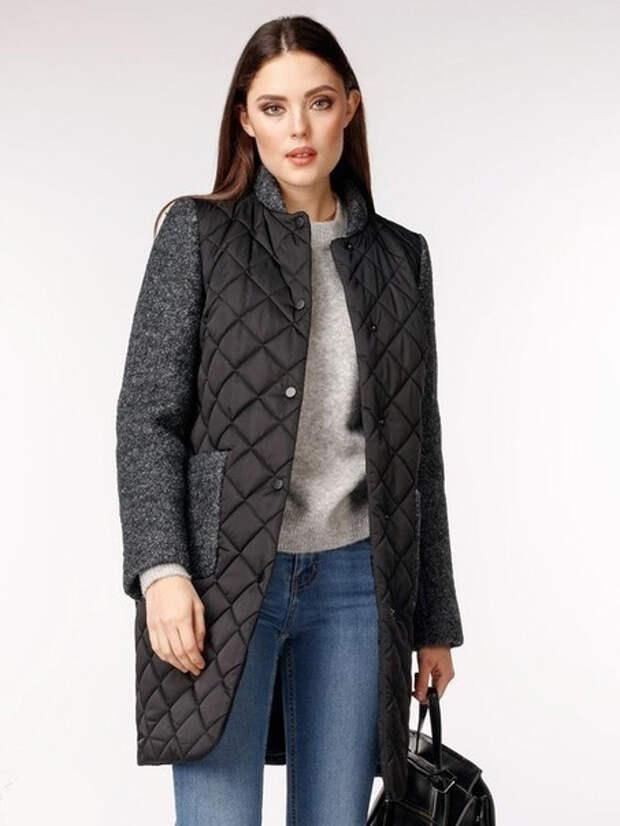 Идеи комбинирования тканей для пальто 7