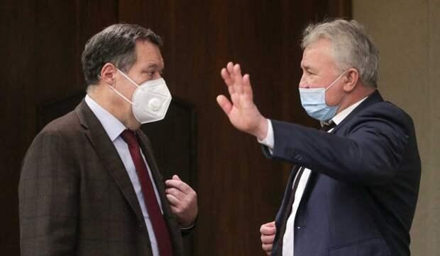 Володин рассказал Путину о ситуации с коронавирусом в Госдуме