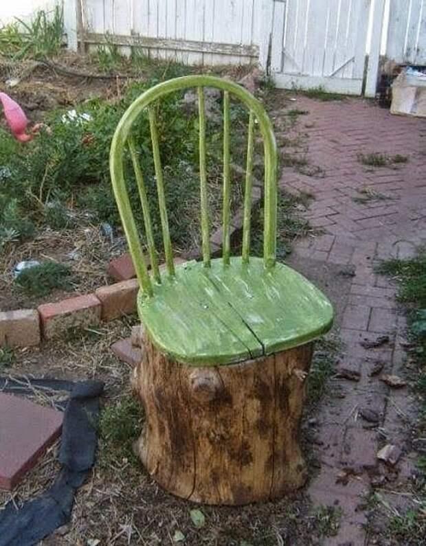 Превращаем старые стулья в диванчики и скамейки: 22 примеров