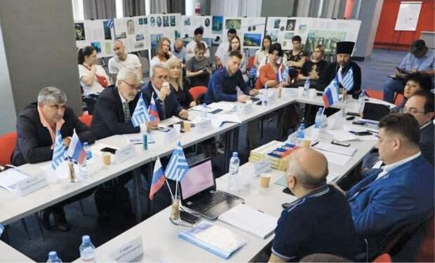 В Крыму гостила делегация из Греции