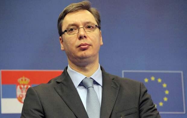 Президента Сербии госпитализировали в Военно-медицинскую академию Белграда