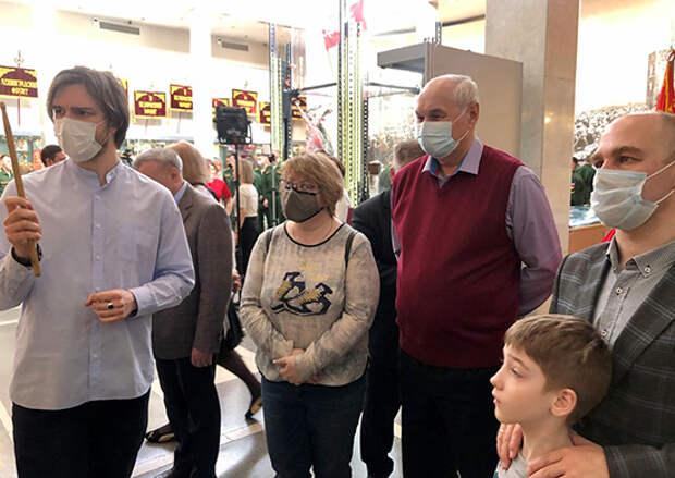 Специалисты 27-го Научного центра Минобороны России посетили Центральный музей Вооруженных Сил Российской Федерации
