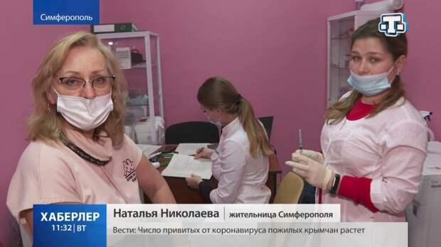 Более 173 тысяч крымчан привились от коронавирусной инфекции